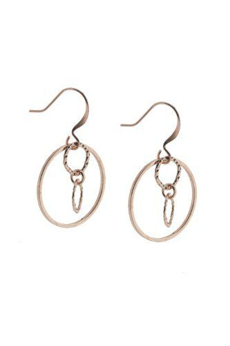 NEW on line Blue Hill Rose Gold Hoop Earrings Price $42 90