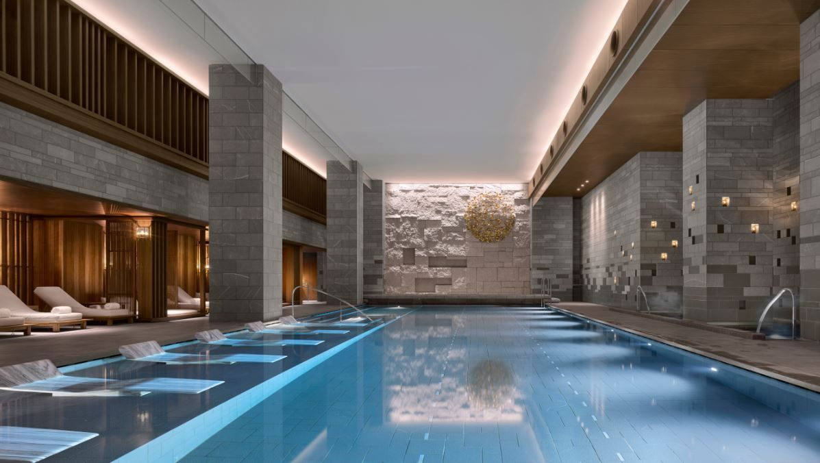 Four seasons kyoto by hba design top openings of 2016 for Best pool designs 2016