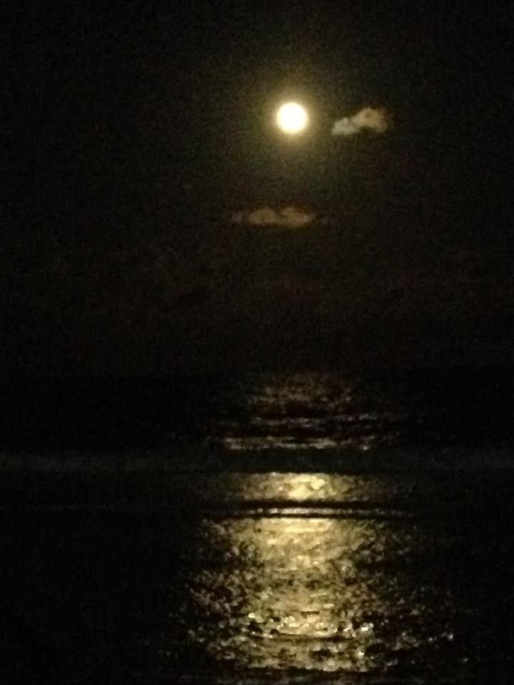 Luna Azul en Porto de Galinhas. 31 de agosto de 2012