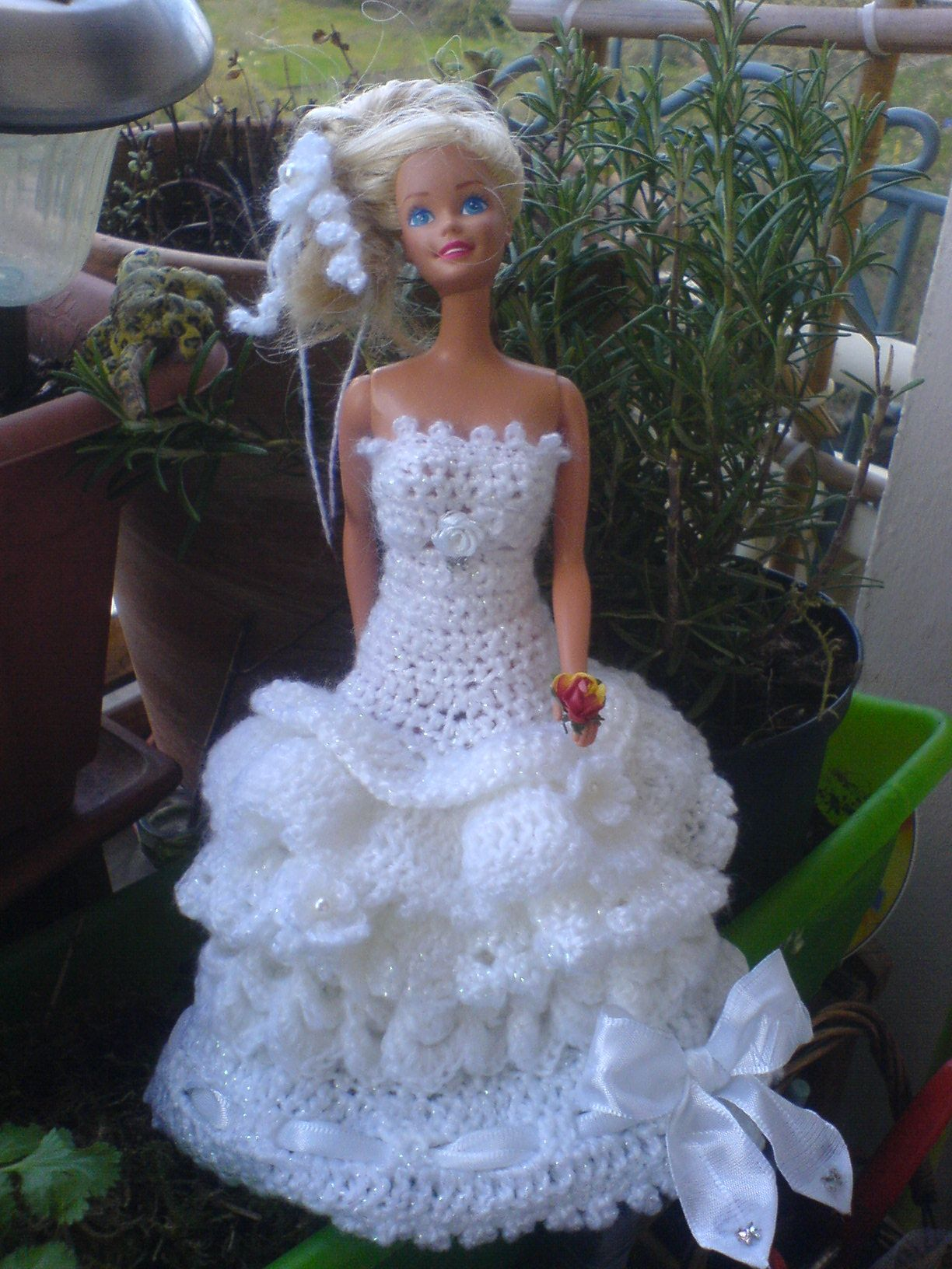 Crochet/Häkel Weddindress/Hochzeitskleid | Елена | Pinterest ...