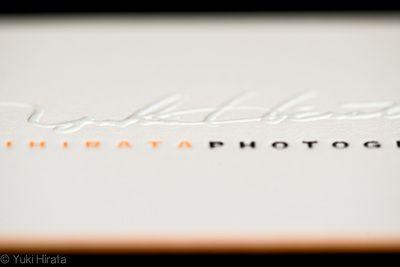 a photographer's business card.
