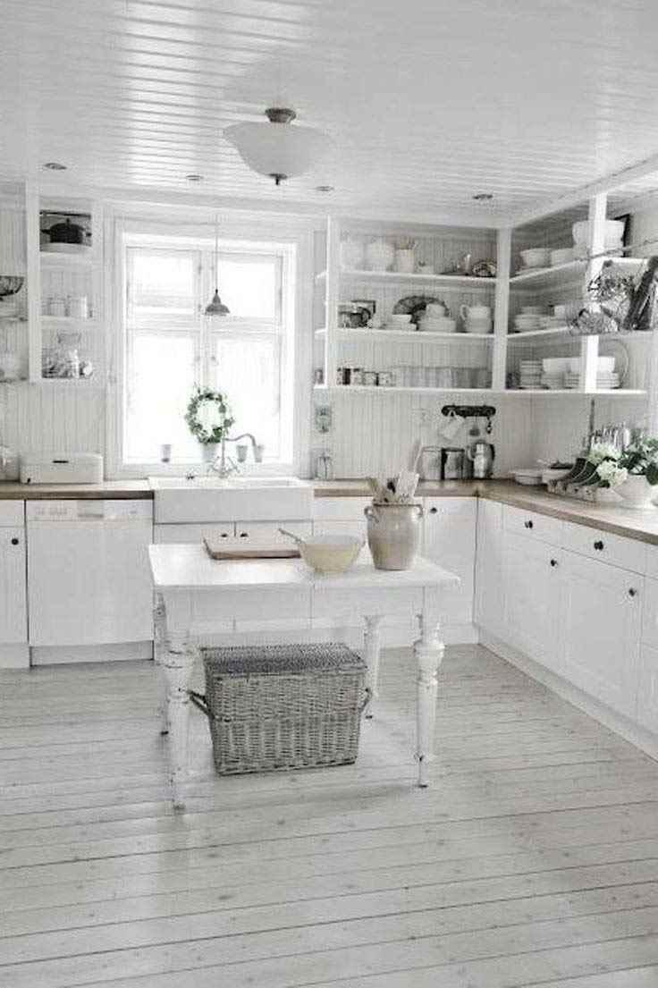 36 shabby chic kitchen ideas - The Shabby Chic Guru