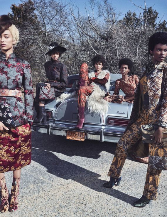 W Magazine has come out the gate with a flawless fashion editorial that only features black models.