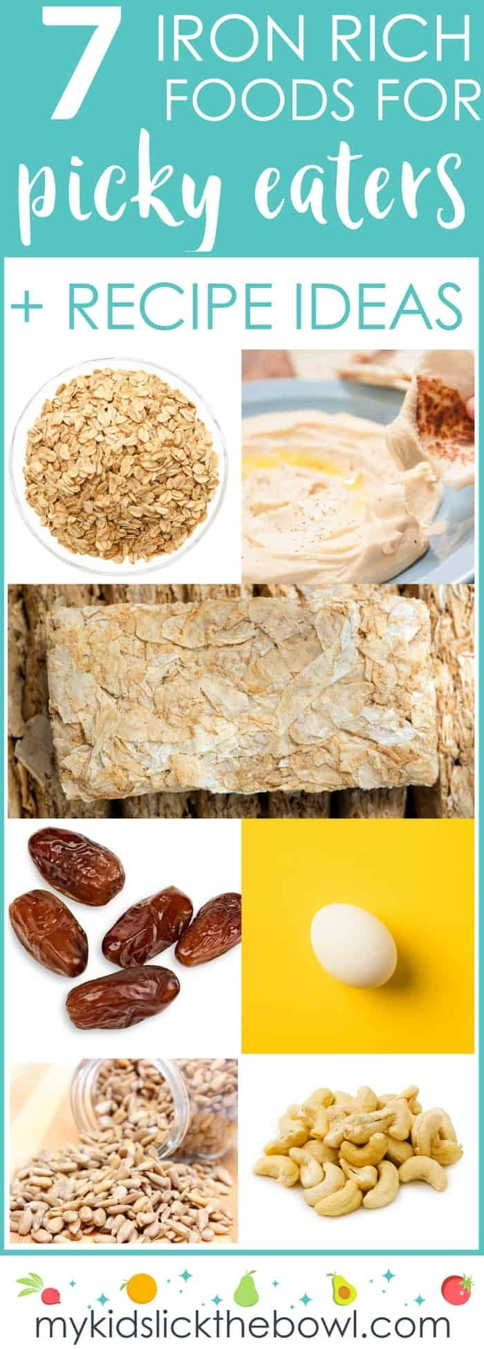 Iron Rich Recipes For Kids Iron rich foods, Foods with