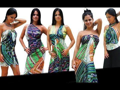 5376f2061 15 Formas de Usar Lenços que Viram Roupas Apaixonantes by Based On Brasil -  YouTube