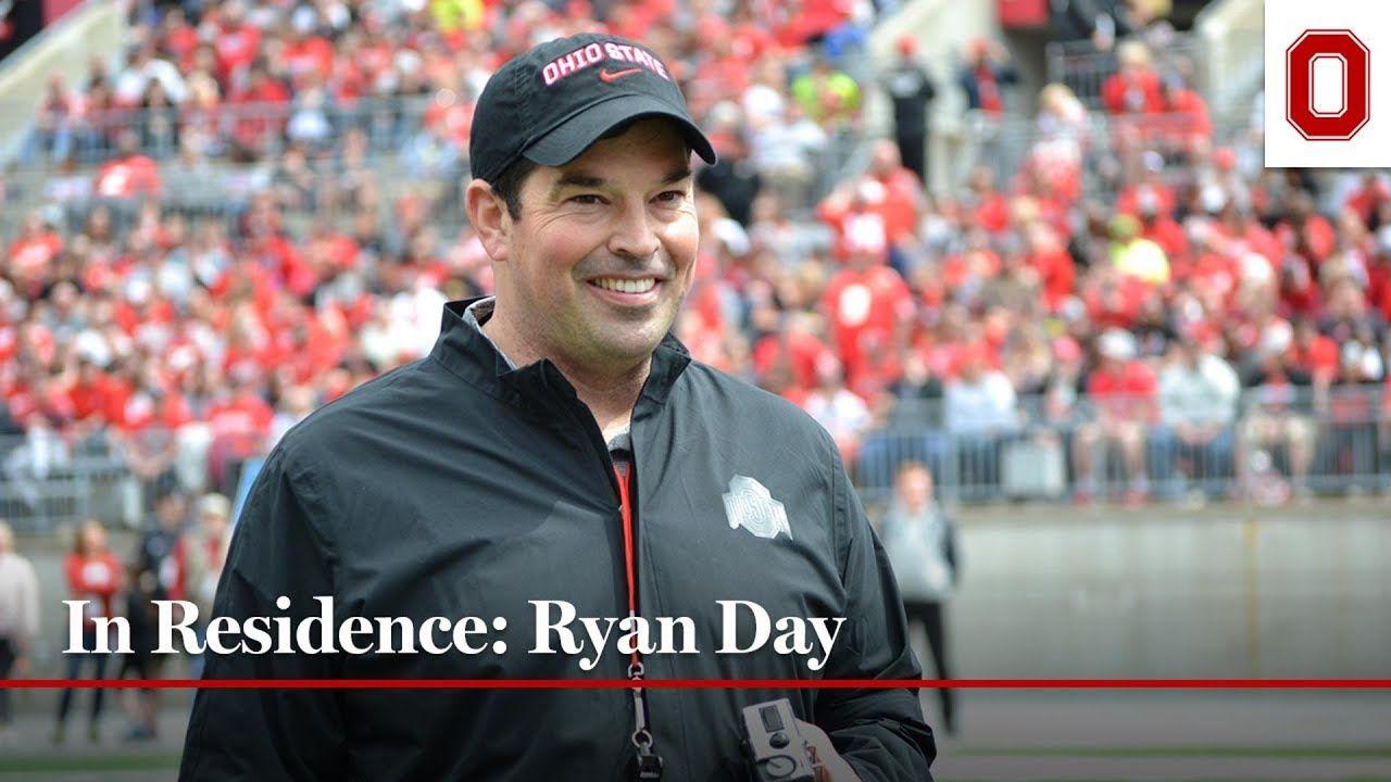 In residence ryan day buckeyes football football coach