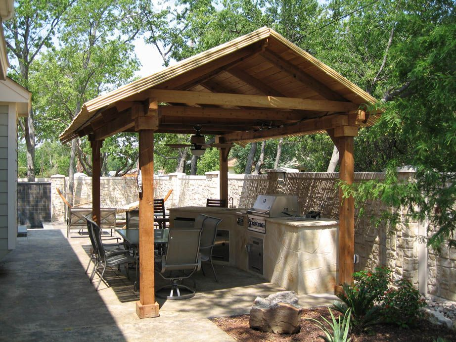 Simple Outdoor Kitchen Designs And One Wall By Means Of Shaping Your With Attractive Formation