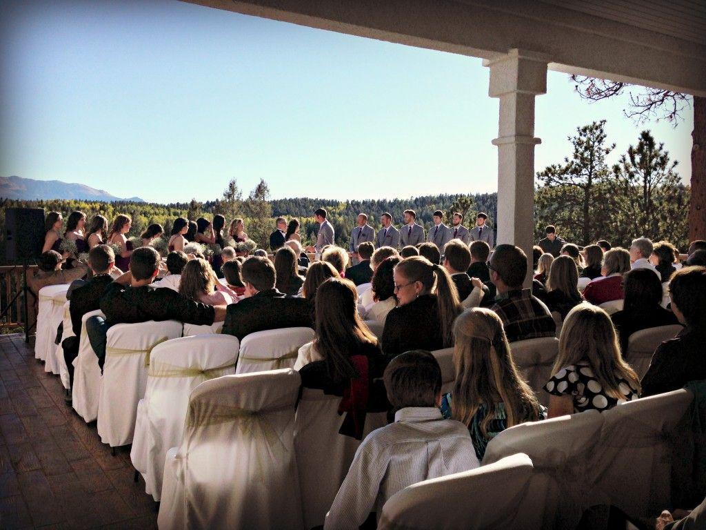 Pikes Peak Wedding Venue At Edgewood Inn Woodland Park Colorado