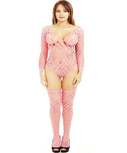 19bd65928996 Women Sexy Lace Fishnet Lingerie Crotchless Bodysuit Bodystocking Sleepwear      Read more reviews of the product by visiting the link on the image.