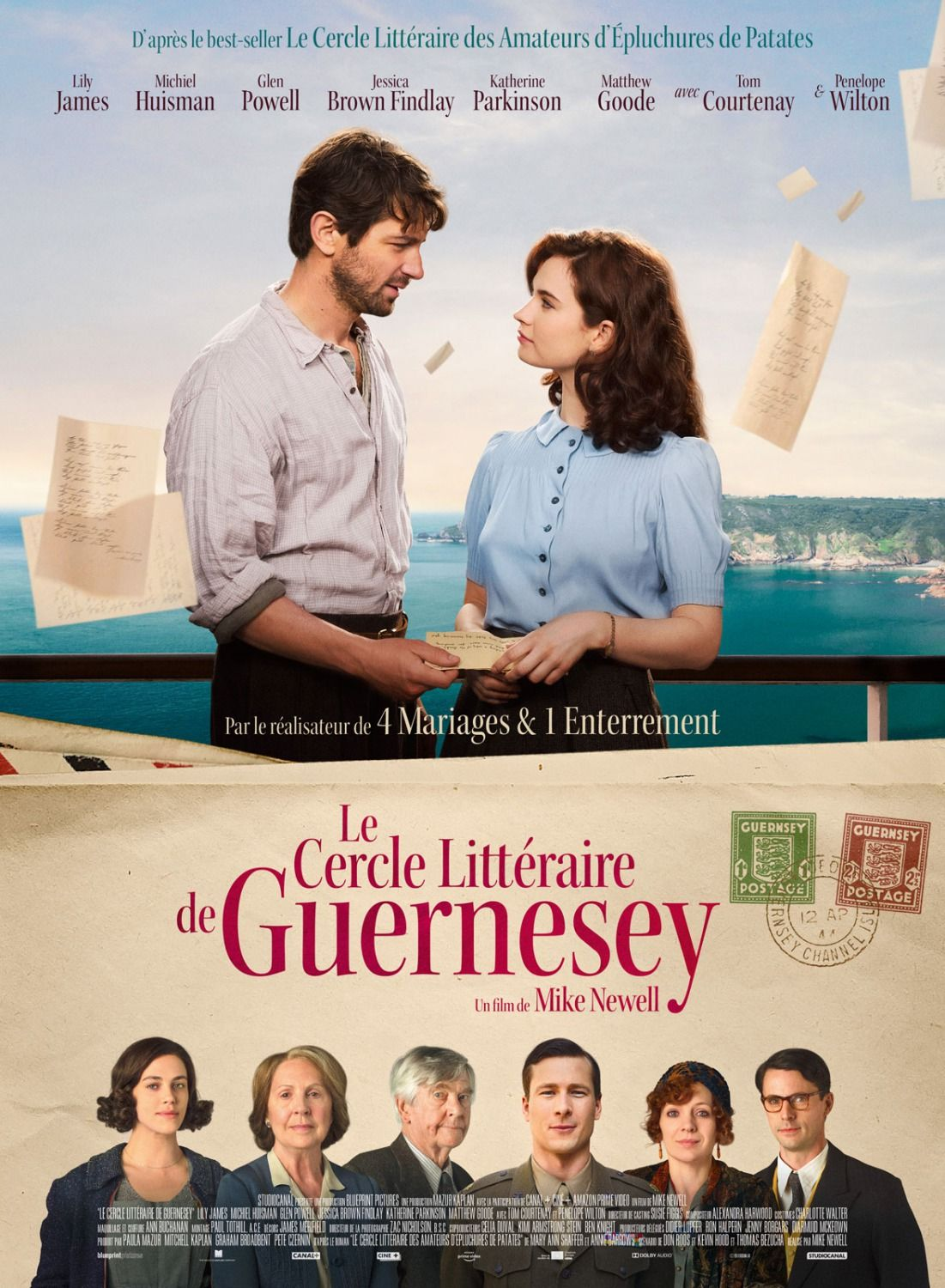 The Guernsey Literary and Potato Peel Pie Society Filmes