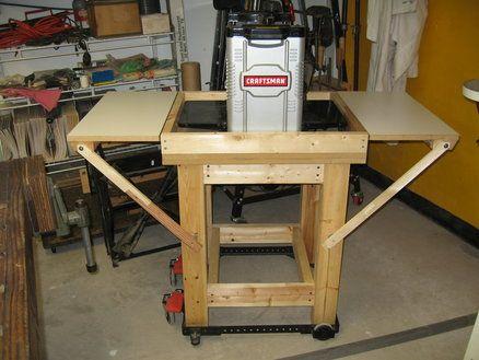 Thickness Planer Stand Woodworking Essentials