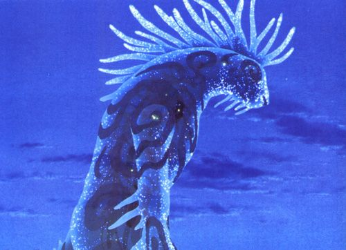 Thinking of making a costume of the nightwalker from the Princess Mononoke Movie.