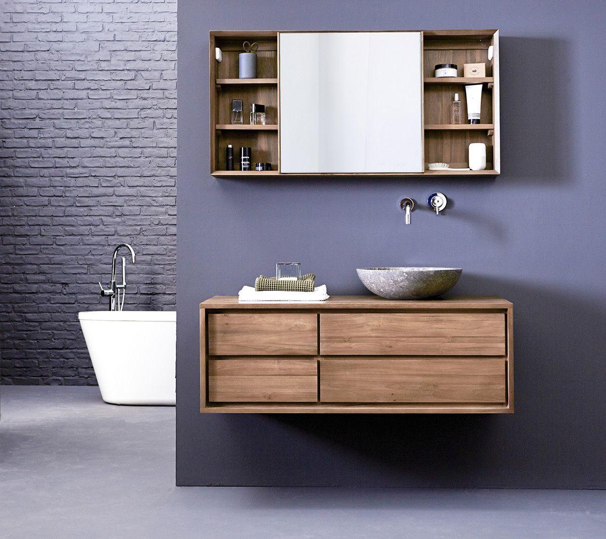 Parker Teak Washstand 120 In 2020 Waschtisch Holz Waschbeckenunterschrank Waschbeckenunterschrank Holz