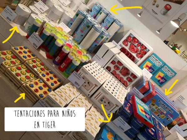 He Vuelto A Picar Cositas Para Los Ninos En La Tienda Tiger De