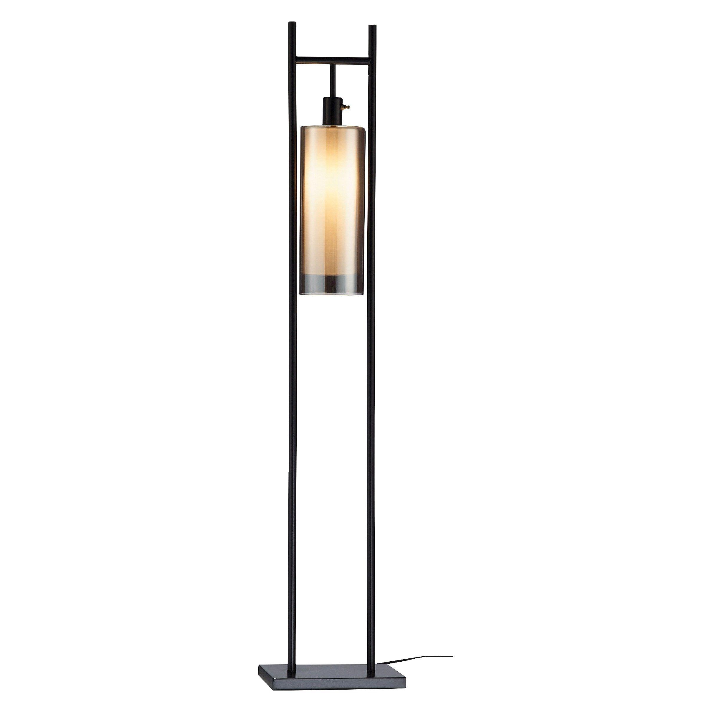 Adesso Revere Floor Lantern Black Target Floor lamp