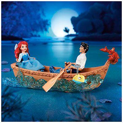 Disney Princess The Little Mermaid Ariel And Eric S Boat Ride Ariel The Little Mermaid The Little Mermaid Disney Baby Dolls