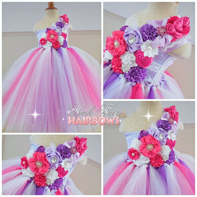 Pink and purple couture flower girl tutu dress weddings flower girl gorgeous flower girl dresses mightylinksfo Choice Image