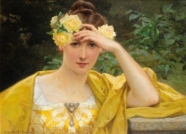 Французская художница Elisabeth Sonrel (1874-1953) / Удивительное искусство