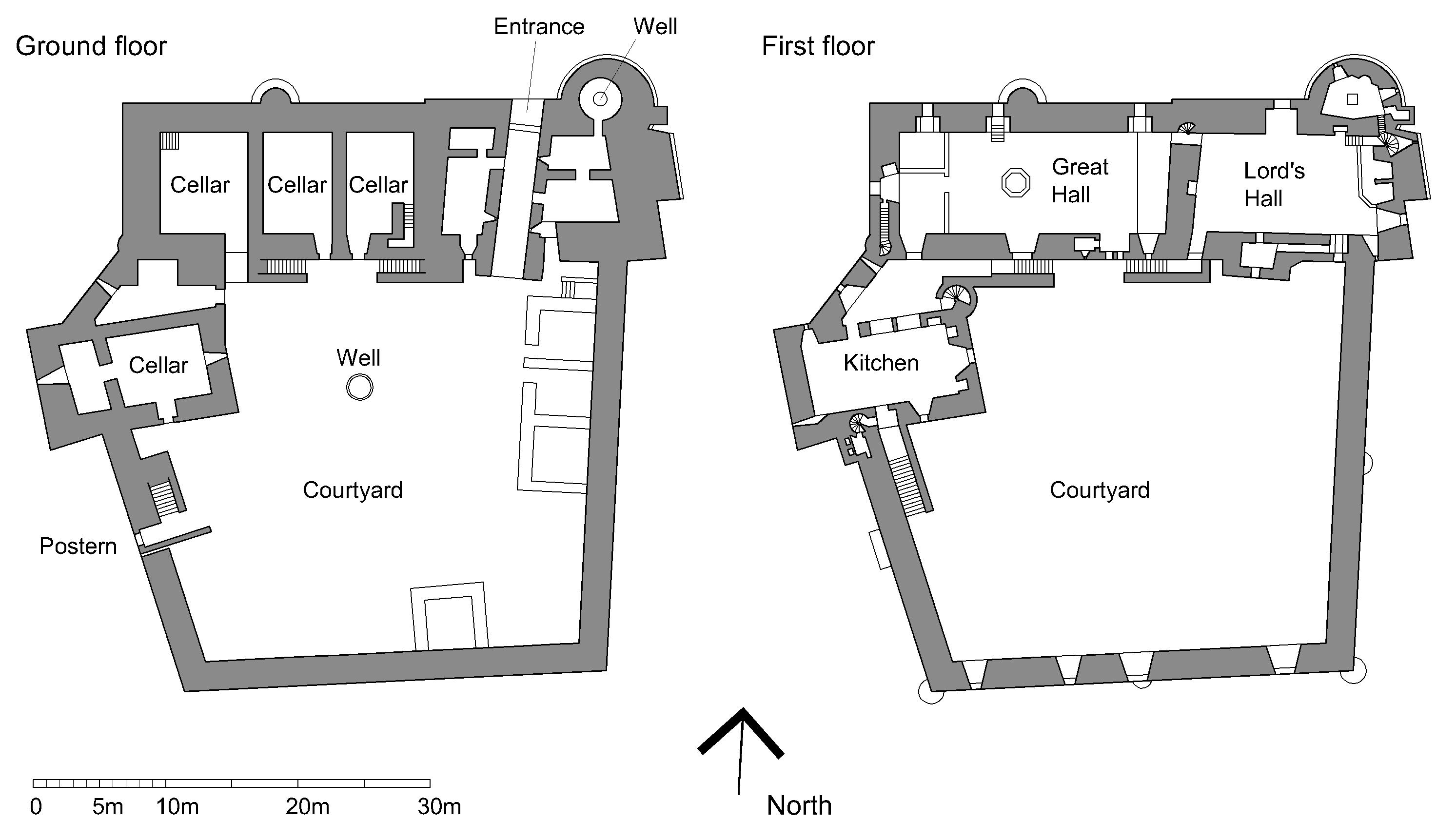 Doune castle plan castle floor plans and interior for Medieval house plans