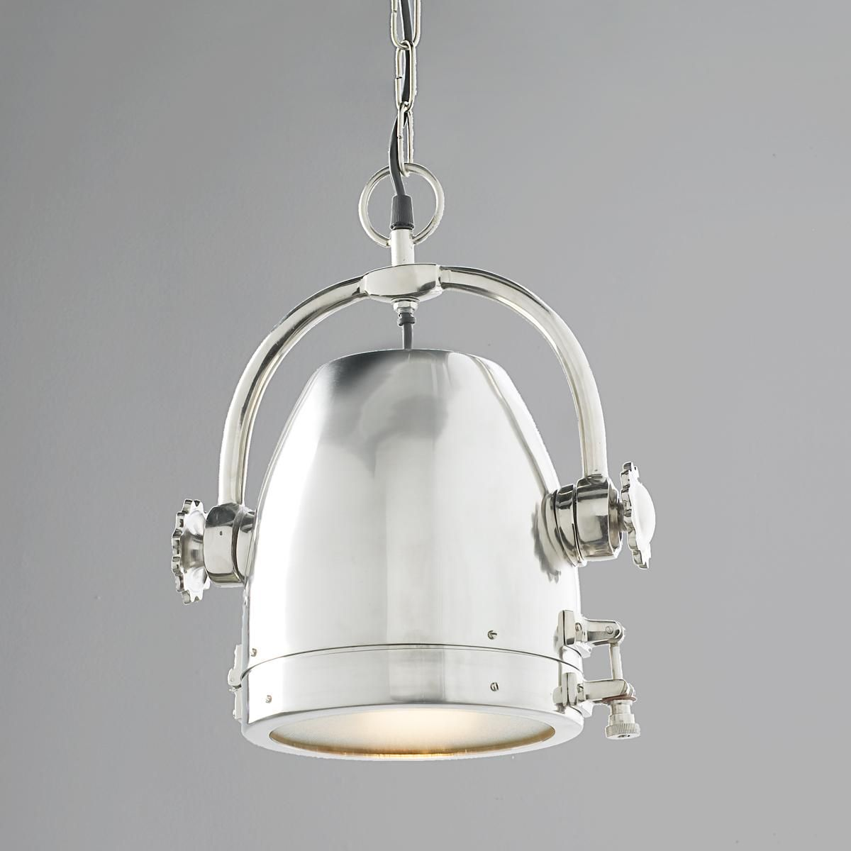 Rotating Nautical Spotlight Pendant Light