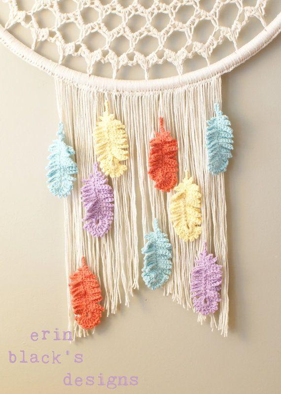 DIY Crochet PATTERN - Dream a Little Dream Wall Hanging (2014023 ...