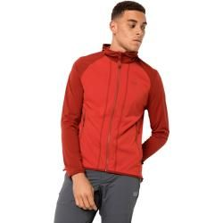 Photo of Jack Wolfskin Sports Jacket Men Hydro Hooded Light Jacket Men S Red