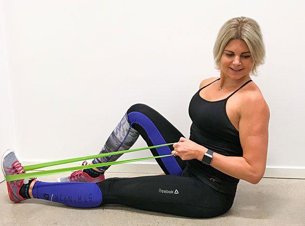 övningar med miniband