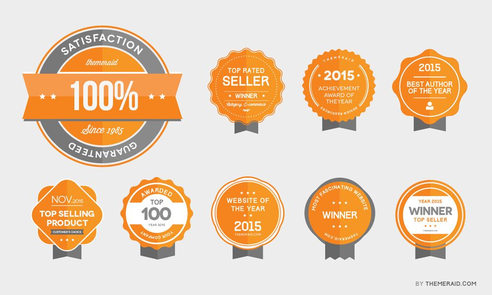 Badge Website award badges psd vector abdulla badges and mockup