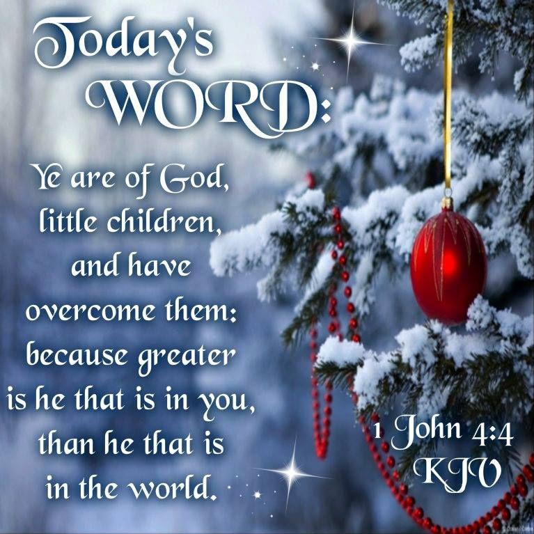 """1 John 4:4 (1611 KJV !!!!) """""""