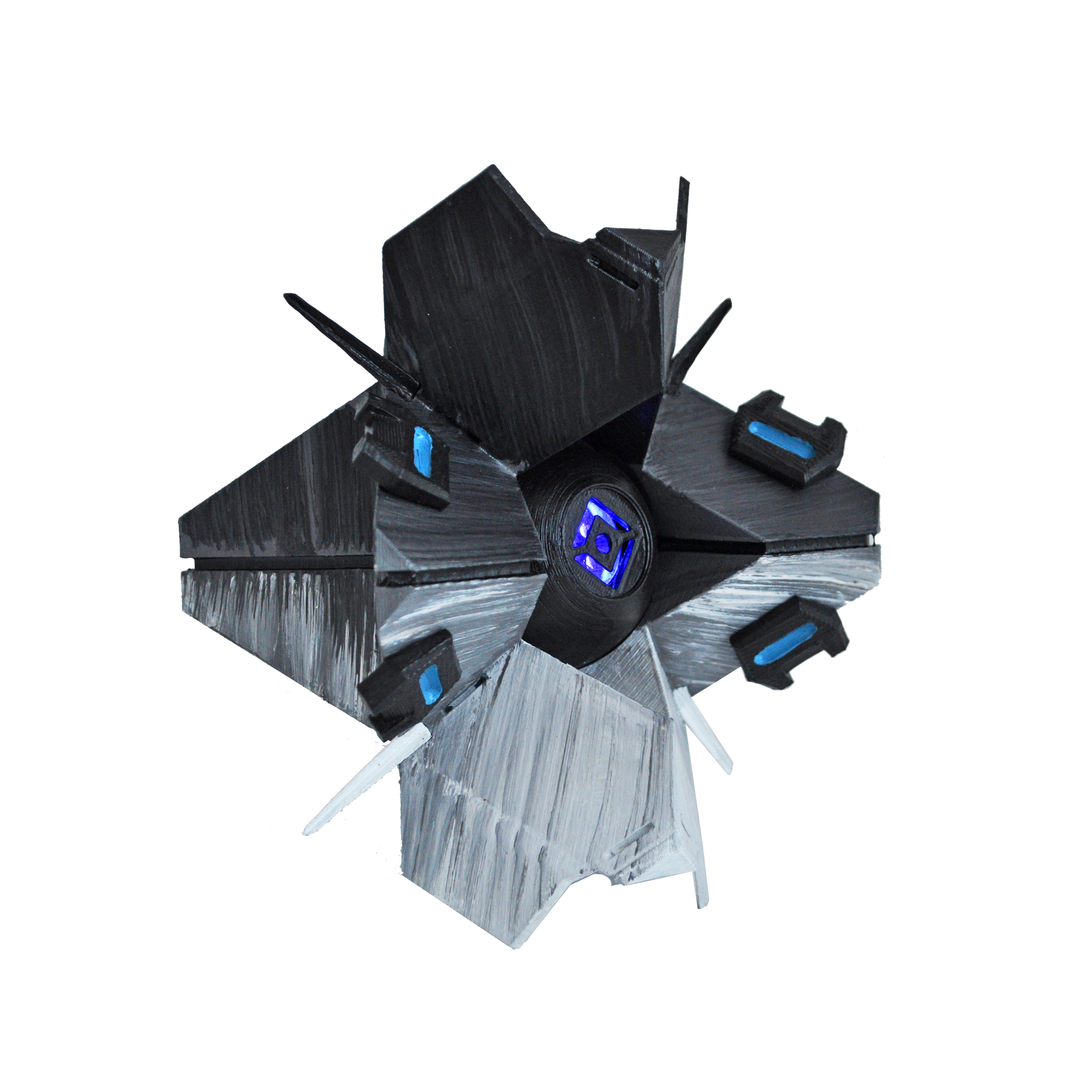 Full Sized Ghost Consumed Shell Costumes From Destiny Star Wars Overwatch Designedby3d Com Art Reference Ghost Star Wars
