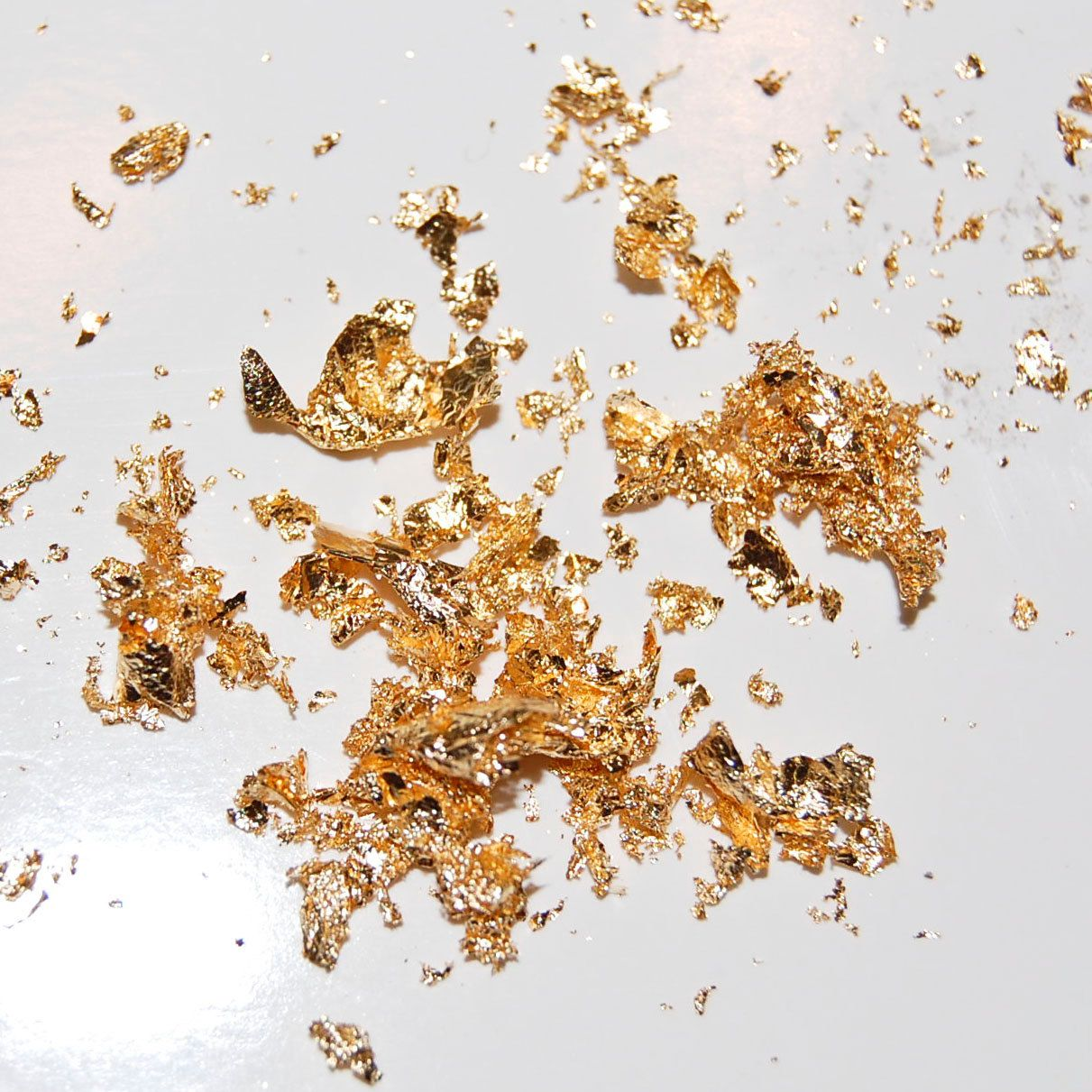 Little Bit O Gold Small Vial Of Gold Leaf Flakes Etsy Paper Art Projects Glitter Crafts Art Projects