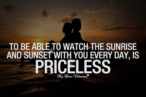 Love Quotes For Him Sunset : ... Love Quotes for Him Pinterest To be, Picture quotes and The