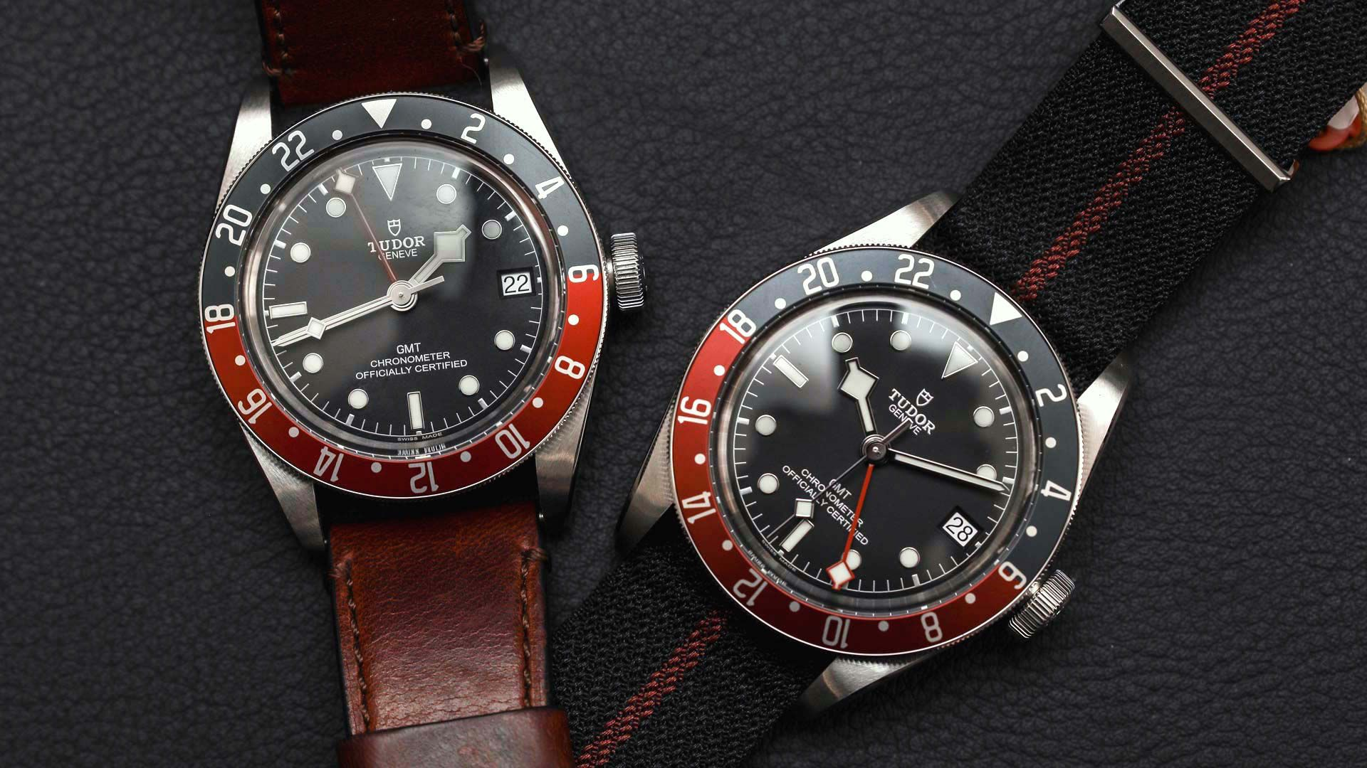 Tudor Black Bay Gmt Watch Hands On Ablogtowatch Tudor Black Bay Tudor Beautiful Watches