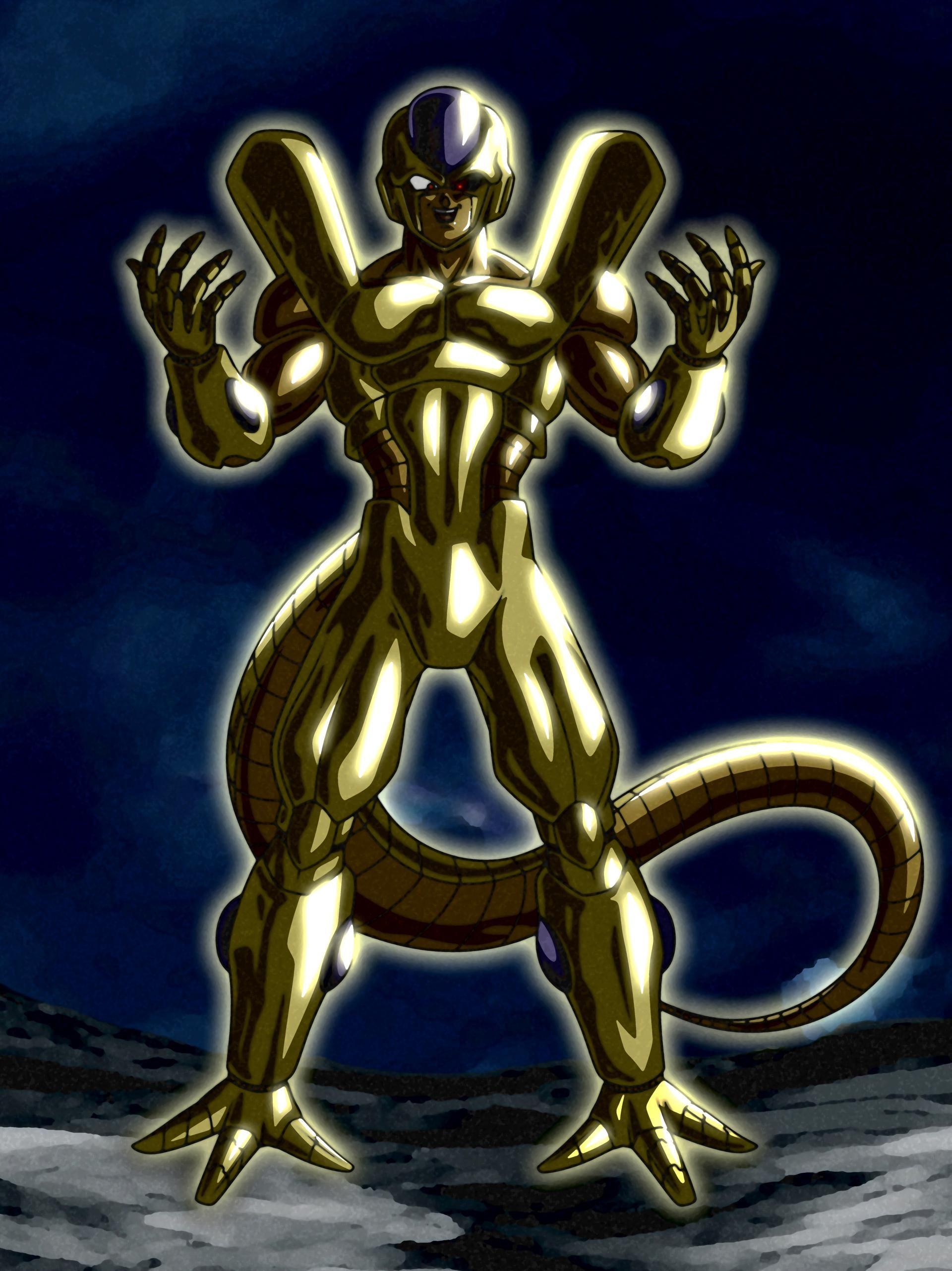 Terrifying Evolution Golden Metal Cooler By Ssjrose890 On Deviantart Dragon Ball Artwork Dragon Ball Art Anime Dragon Ball Super