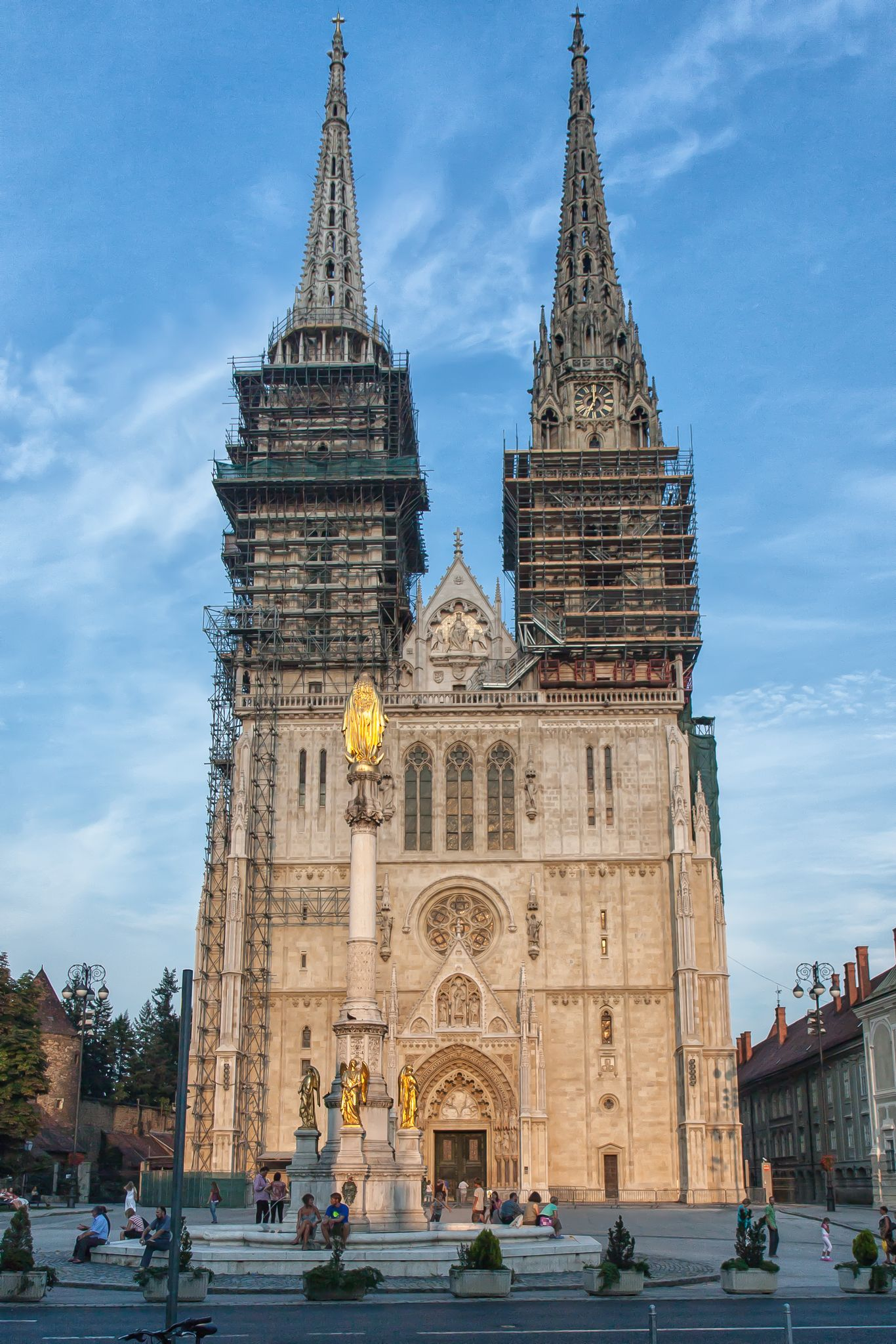 Http Travelnotesfromtheworld Airportconnection It The Zagreb Cathedral On Kaptol Is A Roman Catholic Institution And The Talles Zagreb Cathedral Croatia