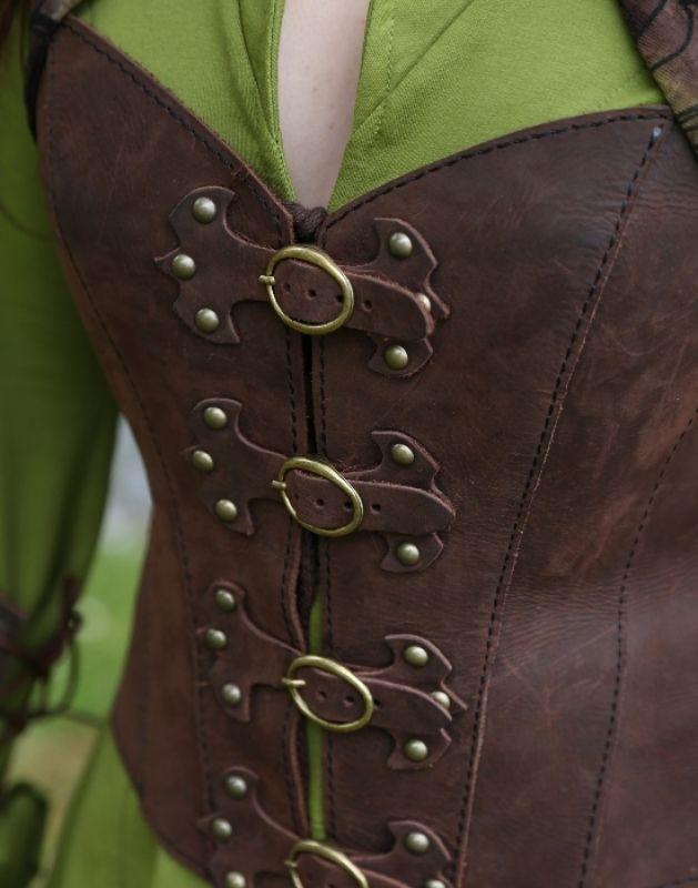 KOSTÜMTRUHE | Verkauf & Versandhandel, mittelalterliche Kleidung, Kostüme & Gewandungen, Zubehör aus Ritterzeit und Piratentum - Leder Corsage Fantasy
