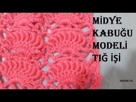 Midye Modeli Bere Yapılışı Türkçe Videolu