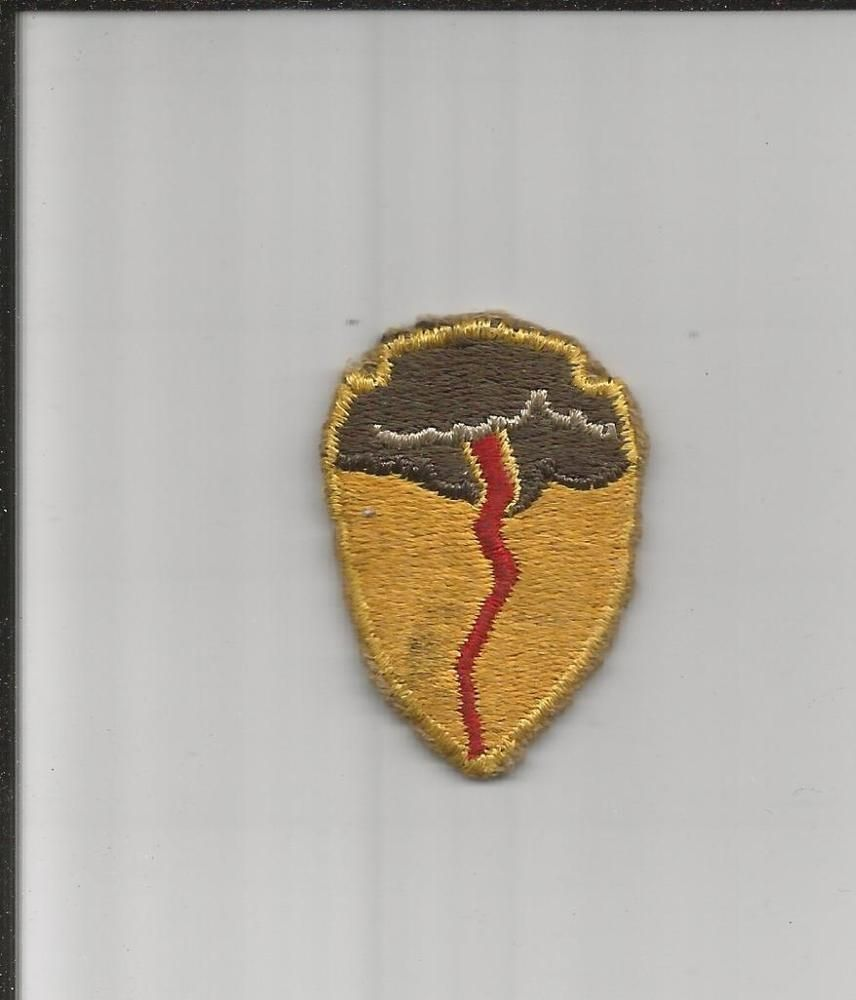 Rare WW 2 US Army 827th Tank Destroyer Battalion Patch Inv# G798