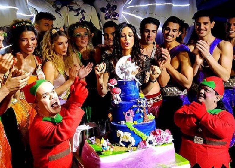 Manuela Arcuri compleanno: mega party a Roma con tantissimi ospiti vip