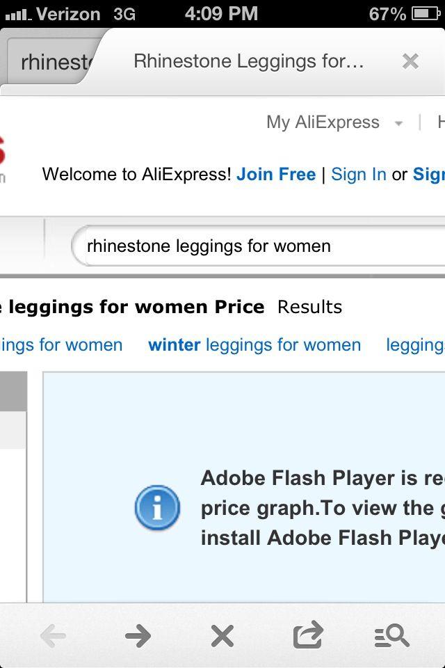 Rhinestone leggings website
