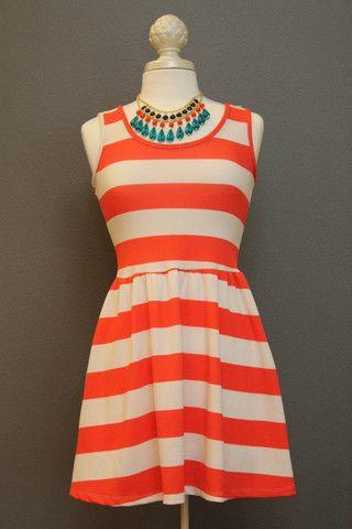 Fun in the Sun Striped Mini Dress – The Dressing Vroom