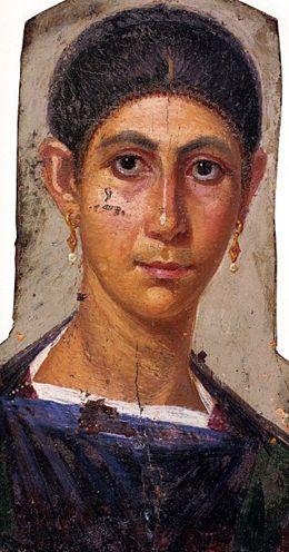 Portraits du Fayoum : un regard de l'au-delà - Agora ErasmusMore Pins Like This One At FOSTERG ...