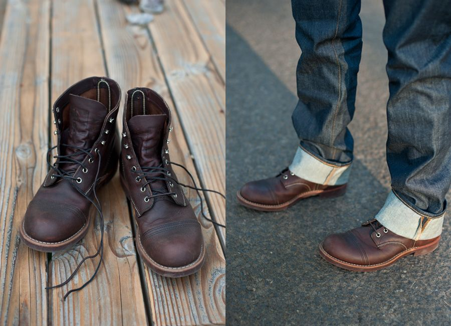 Red Wing Shoes | Classic Moc Toe Work Boot | Oro-Iginal Tan ...