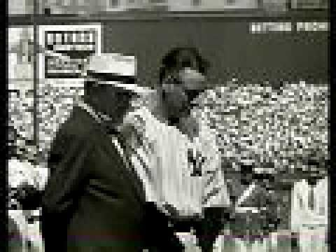 Lou Gehrig Speech. Lou was diagnosed with ALS and the disease took on his name as he was such a well known figure on the NY Yankees and in sports. #BetterDaysALS