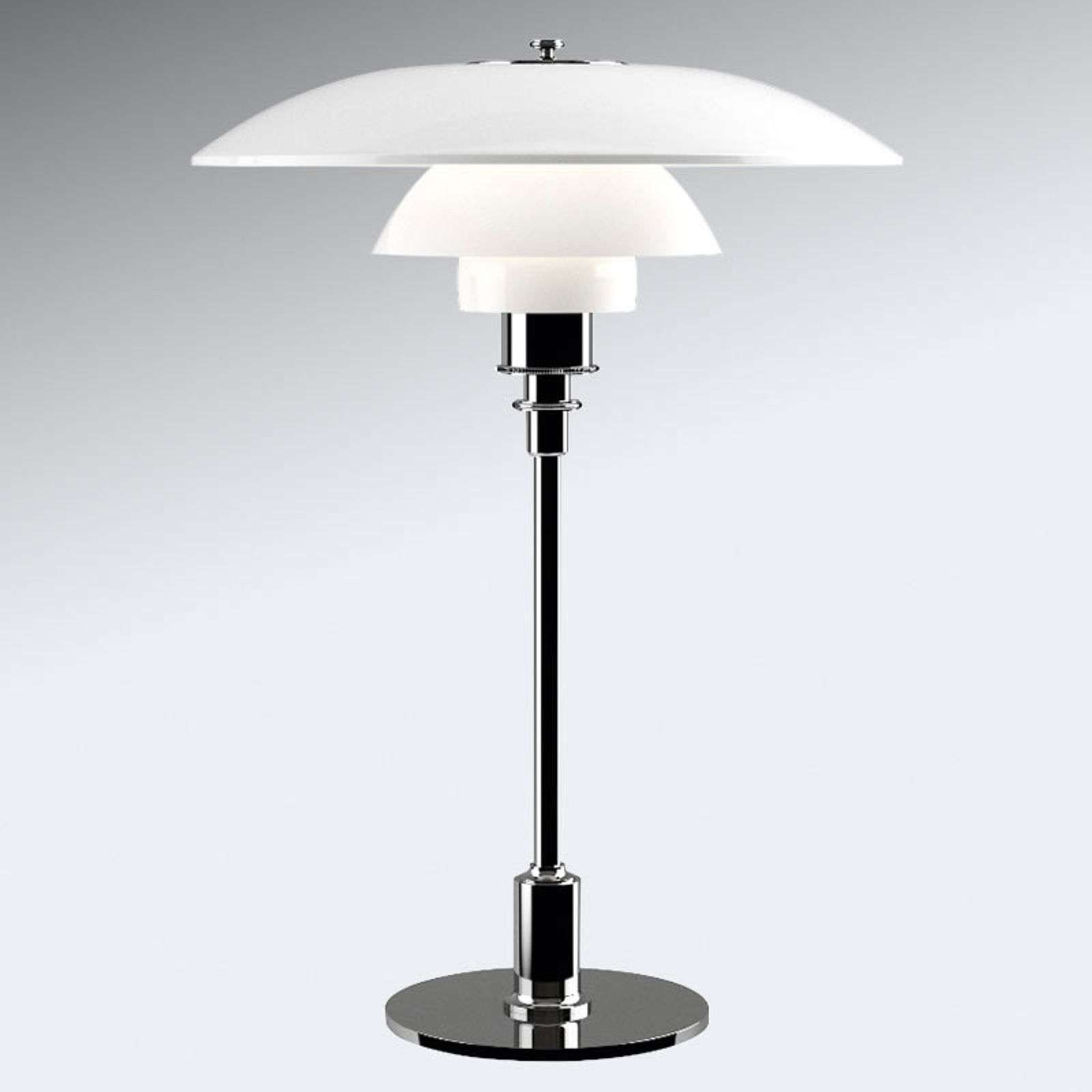 Louis Poulsen Ph 3 1 2 2 1 2 Lampe A Poser Chrome En 2020 Lampes De Table Lampe A Poser Lampe A Poser Design