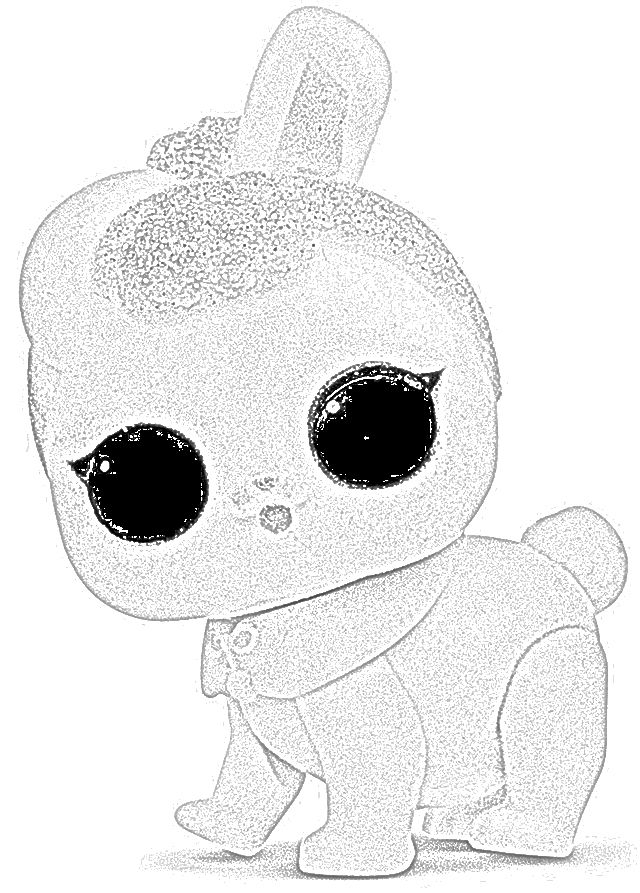 Lol Surprise Coloring Pages Pets | Lol dolls, Bunny ...