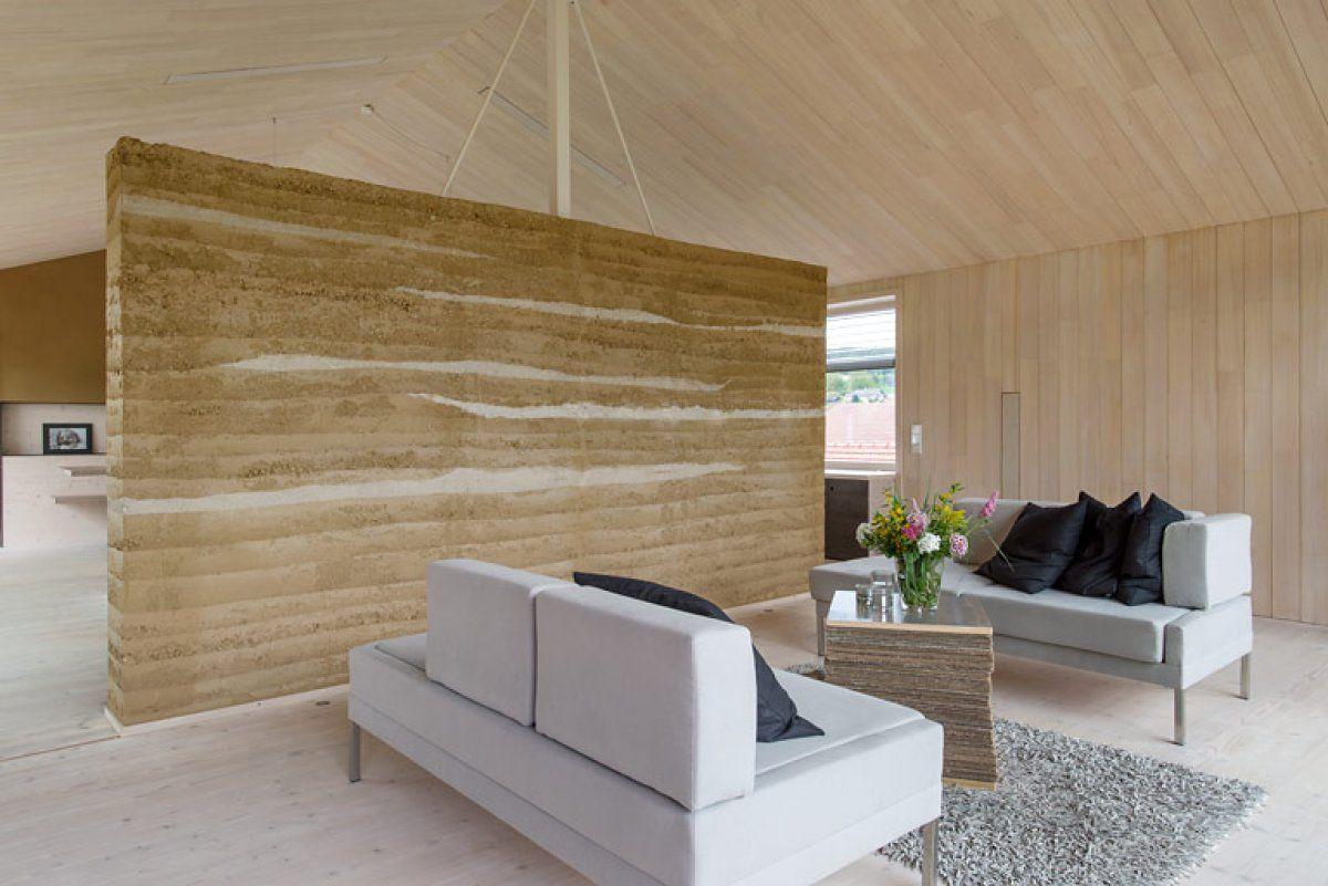 Haus des Jahres 2013: 1. Preis: Gutes Klima dank Lehmstampfwand ...