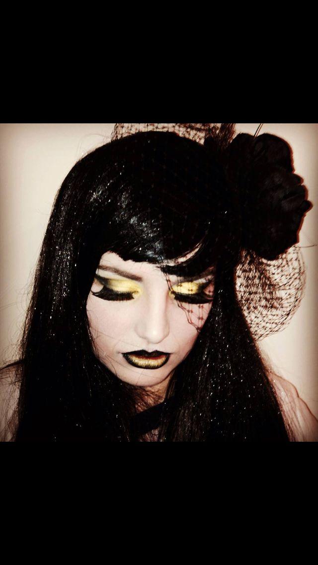 Alternative makeup by Hamara https://m.facebook.com/profile.php?id=261583670698321