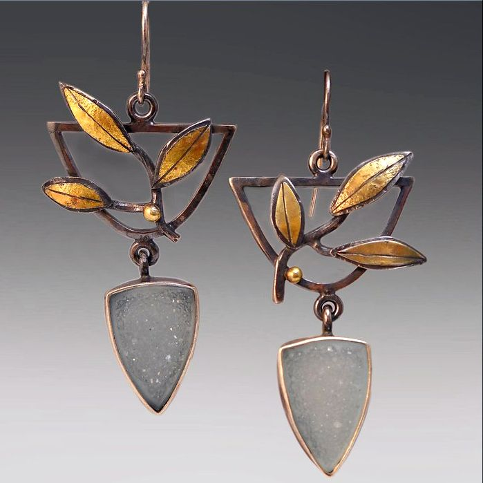 innovative jewelry designs Patricia studied with famed Hopi Jeweler