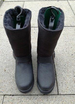 Kaufe meinen Artikel bei #Kleiderkreisel http://www.kleiderkreisel.de/damenschuhe/stiefelette/152777379-buffalo-biker-boot-mit-weichen-kunstfell-schaftspanner-und-lammfellsohle
